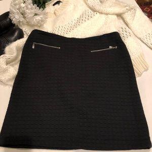 Laundry by Shelli Segal Black skirt size 10